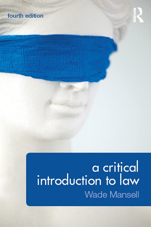 A Critical Introduction to Law PDF