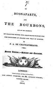 Of Buonaparte, and the Bourbons, and of the necessity of rallying round our legitimate princes