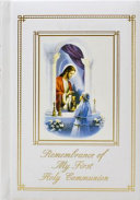Remembrance Of My First Holy Communion