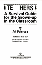 Teachers A Survival Guide For The Grown Up In The Classroom Book PDF