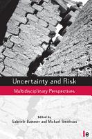 Uncertainty and Risk PDF