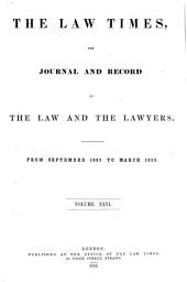 The Law Times: Volumes 26-27