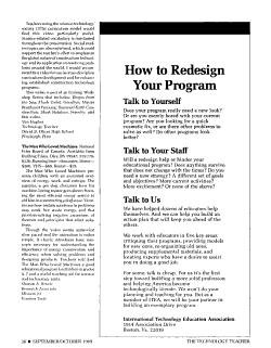 The Technology Teacher PDF