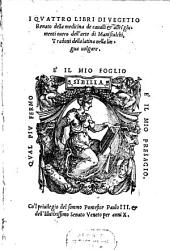 Della medicina de'Cavalli