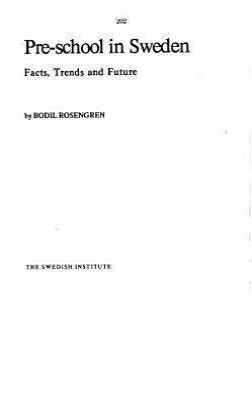 Labor Market Policy in Sweden  1974 PDF