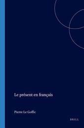 Le présent en français