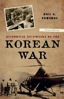 Historical Dictionary of the Korean War PDF