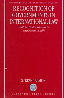 Recognition of Governments in International Law PDF