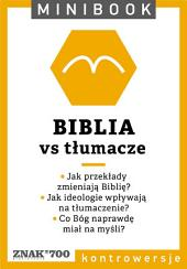 Biblia [vs tłumacze]. Minibook