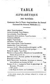Journal universel des sciences médicales: Volume28