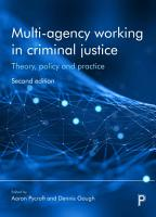 Multi agency working in criminal justice 2e PDF