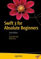 Swift 3 for Absolute Beginners PDF