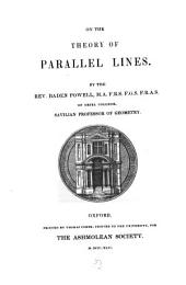 On the Theory of Parallel Lines: Volume 8