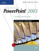 New Perspectives on Microsoft Office PowerPoint 2003  Brief  CourseCard Edition PDF