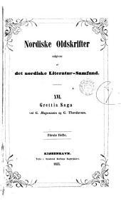 NORDISKE OLDSKRIFTER UDGIVNE AF DET NORDISKE LITERATUR-SAMFUND