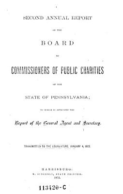 Annual Report of the board of commissioners of public charities of the state of Pennsylvania PDF