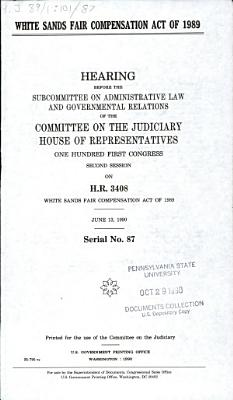 White Sands Fair Compensation Act of 1989