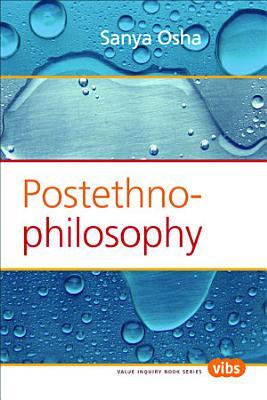 Postethnophilosophy PDF