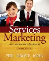 Services Marketing Interactive Approach PDF