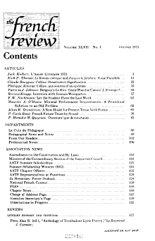 The French Review PDF