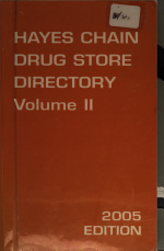 The Hayes Chain Drug Store Guide