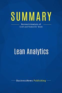 Summary  Lean Analytics PDF