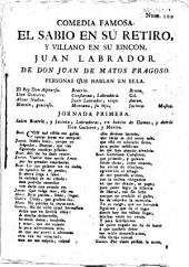 El sabio en su retiro y villano en su rincón, Juan Labrador