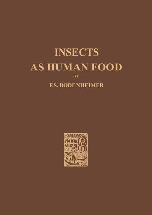 Insects as Human Food