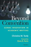 Beyond Convention