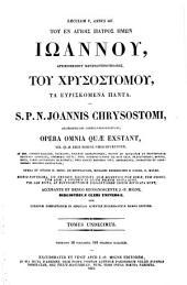 Patrologie cursus completus, seu bibliotheca...omnium SS. patrum, doctorum scriptorumque ecclesisticorum...ad ann.1439 pro graecis...Series graeca...