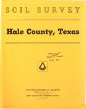 Soil Survey, Hale County, Texas