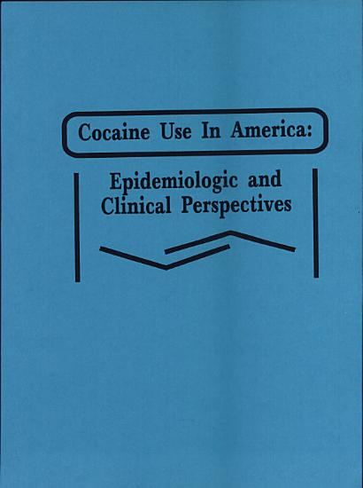 Cocaine Use in America PDF