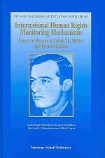 International Human Rights Monitoring Mechanisms