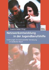 Netzwerkentwicklung in der Jugendberufshilfe: Erfahrungen mit Institutioneller Vernetzung im ländlichen Raum