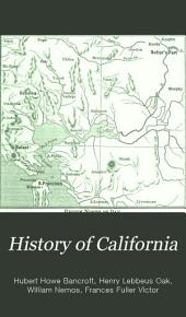 History of California: Volume 22
