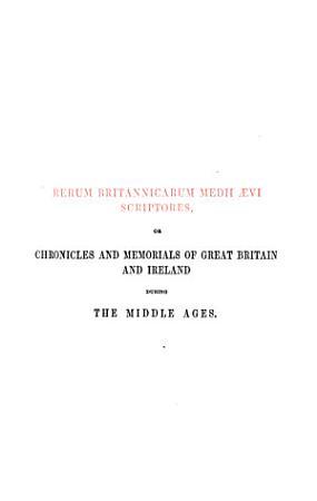 Chronicon Monasterii de Abingdon PDF