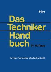 Das Techniker Handbuch: Ausgabe 14