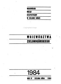 Rocznik statystyczny wojew  dztwa zielono g  rskiego PDF