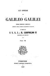 Le opere di Galileo Galilei: Commercio epistolare. 1847-1853