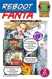 RebootFanta 2: Fanzina di fantascienza a fumetti