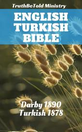 English Turkish Bible: Darby 1890 - Turkish 1878
