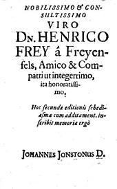 De Festis Hebraeorum et Graecorum schediasma. Ed. II.