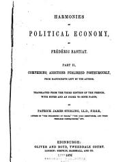 Harmonies of Political Economy: Volume 2