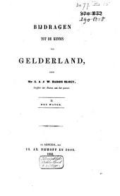 Bijdragen tot de kennis van Gelderland: Volume 2