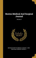 Boston Medical and Surgical Journal;