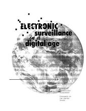 Electronic Surveillance in a Digital Age