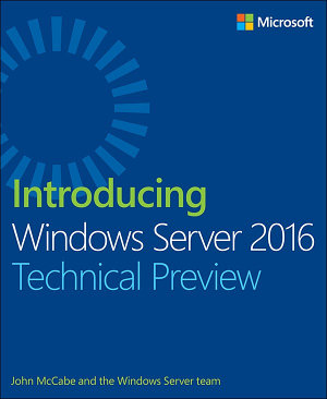 Introducing Windows Server 2016 Technical Preview PDF
