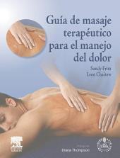 Guía de masaje terapéutico para el manejo del dolor + acceso web