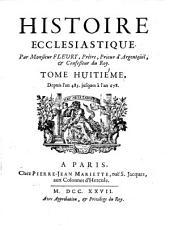 Histoire ecclésiastique: Volume8