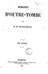Mémoires d'outre-tombe: Volume1